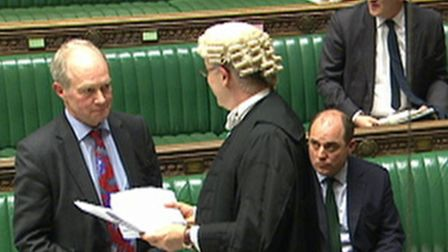 Hitchin & Harpenden MP Peter Lilley in the House of Commons