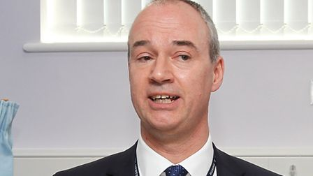 Chief executive of East and North Herts NHS Nick Carver