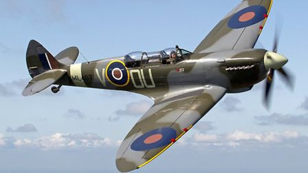 An iconic Spitfire takes to the skies