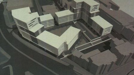 Councillors put back a decision on the application. Credit: Intercounty Properties Limited