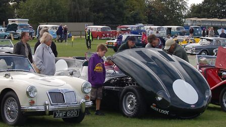 Morot show at Knebworth House