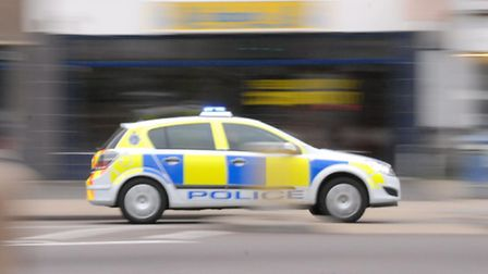A road onto the A1 has been closed this morning after a BMW veered off the road.