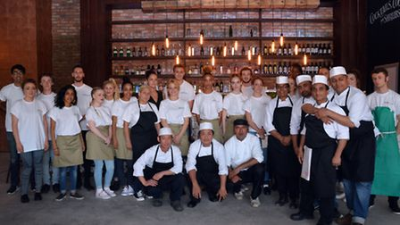The staff and management at Salt & Good