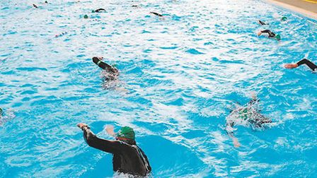 Letchworth Outdoor Pool has been chosen as one of the venues hosting the Macmillan Lido Challenge.