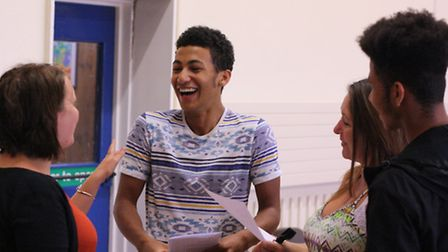 Jamol Jeffrey achieved A*A*A and is off to UCL to study engineering.