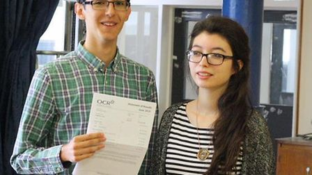 Talentend musician Hugo Hammond achieved A*BB and is off to Bristol University. Credit: @TheBarclayS