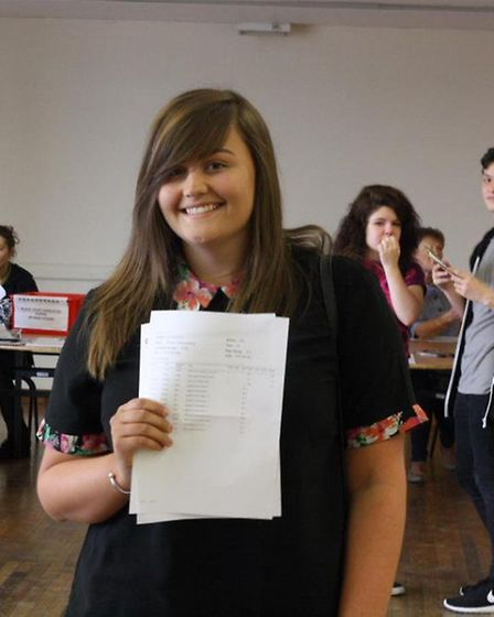 Georgia Hutchins is off to Coventry University to study photography after attaining an A*AAC. Credit