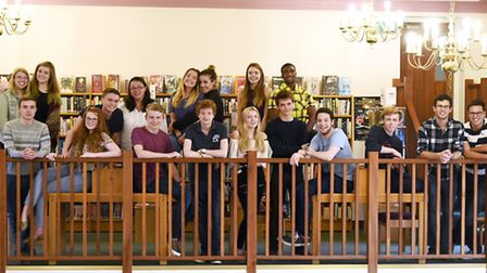 Bishop's Stortford College A-level students who achieved three or more As or above.