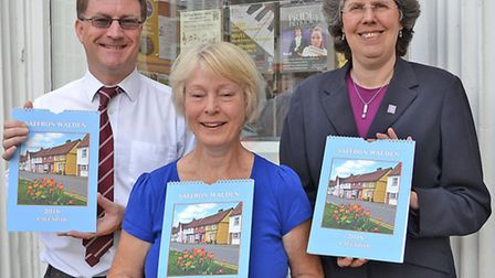 Saffron Walden Tourist Information Centre and Megan Ridgewell are pleased to announce the launch of