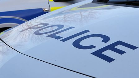 Police arrested two men in Hitchin on Monday