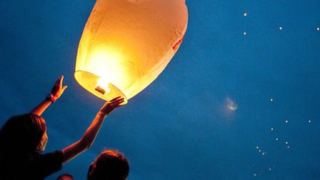 Sky lanterns can cause problems for landowners