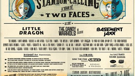 Standon Calling, which has a Tale of Two Faces theme, is celebrating its 10th anniversary this year.
