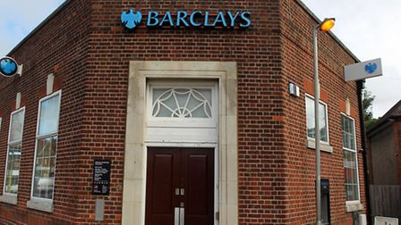 Barclays in Knebworth is closing in December.