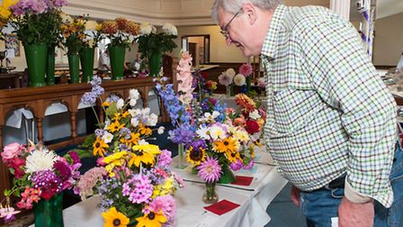 Thaxted Gardening Show. Picture: Roger King