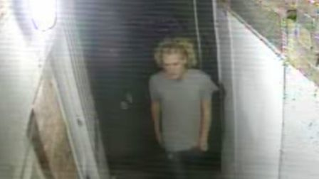 Police have released another image taken by the West Alley CCTV cameras as they try to crack down on