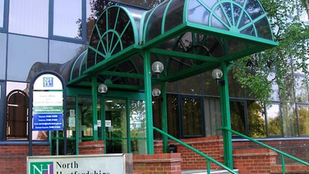 North Herts District Council offices in Gernon Road, Letchworth