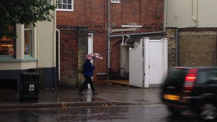 Heavy rain and wind is expected across the county this afternoon