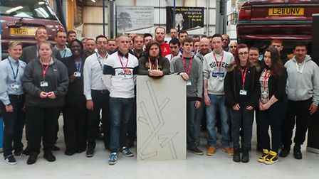 North Herts College plastering lecturer Chris Bailey will be running a project with students in the