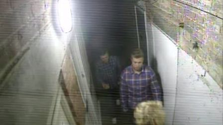 Do you know these lads including one with a blond shock of hair who used West Alley as a toilet?