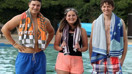 Oliver Pritchard, Rebecca Day and Mark Hemmings