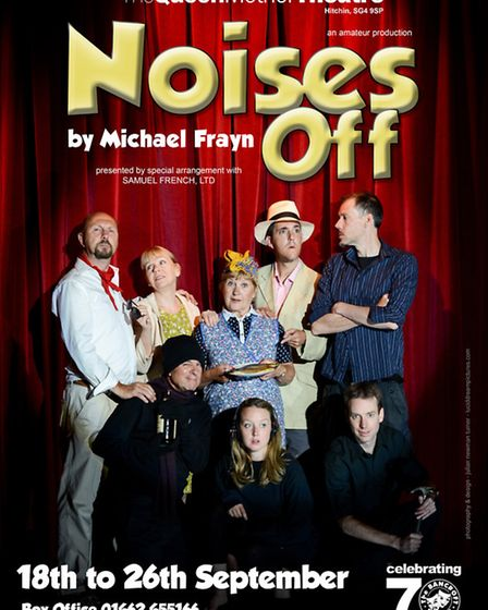 Noises Off at the Queen Mother Theatre, Hitchin