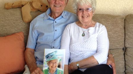 Jack and Joyce Hawkes celebrated their 60th wedding anniversary last month.