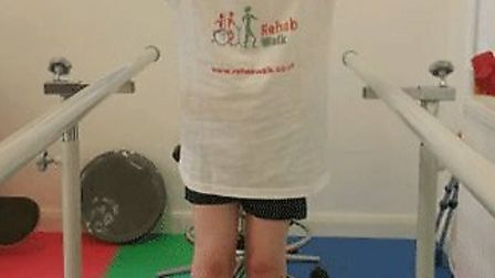 Jack Gower has been making rapid progress since his operation to help him walk independently.
