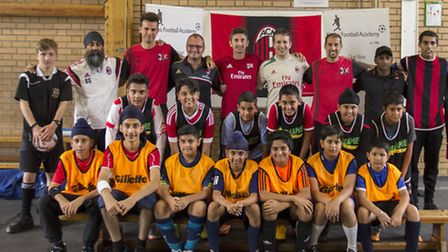 Bal Singh and his football community development project with AC Milan