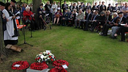 The service which was held in Stevenage Old Town.