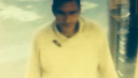 Police want to trace this man after a theft from Stansted Tesco Express