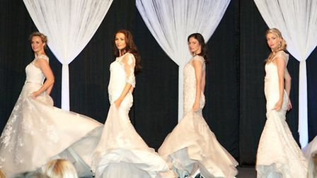 Catwalk shows will take place three times daily at Bride: The Wedding Show