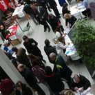 Stansted Airport's job fair