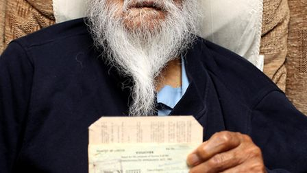 Brave former soldier Pritam Singh reached the ripe old age of 100 surrounding by his loving family