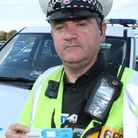 Pc Winfield with drug wipe.