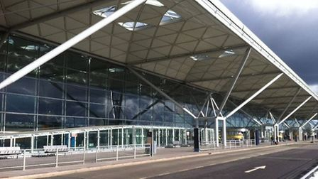Stansted Airport, which is a major factor in the organisation's relocation