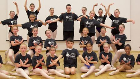 Some of the North Herts dancers taking part in next week's show