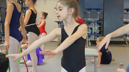 English Youth Ballet brings Sleeping Beauty to the Gordon Craig, Stevenage. Elodie Silver is 8 year