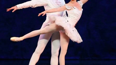 English Youth Ballet brings Sleeping Beauty to the Gordon Craig, Stevenage. Amy Drew and Brenden Br