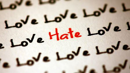The issue of hate crime is being addressed by the authorities in Herts