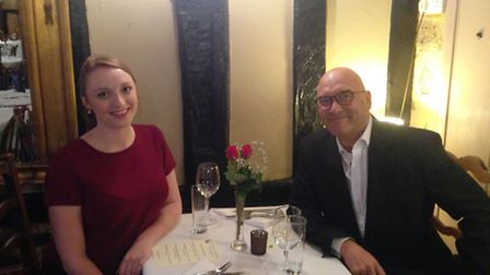 Gregg Wallace and Abigail Weaving
