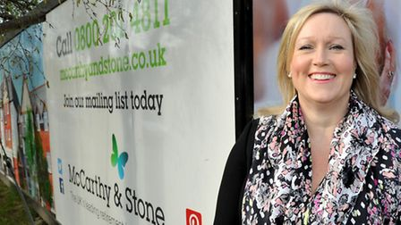 Elaine Stratford, Regional Sales and Marketing Director for McCarthy and Stone
