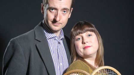 Richelle Brundle and Stephen Deaville have leading roles in City of Angels, the Lytton Players produ