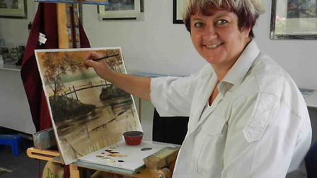 Denise Allen will be giving a masterclass to the Stevenage Arts Society