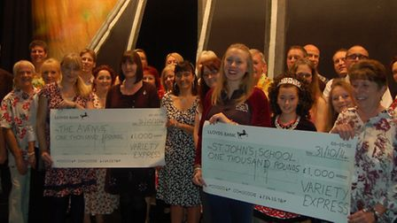 Variety Express raises funds for local charities from their popular perfomances