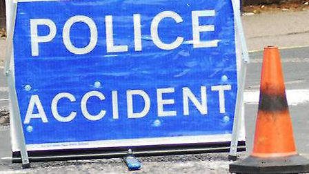 Police were called after the crash on the A505 between Royston and Baldock.