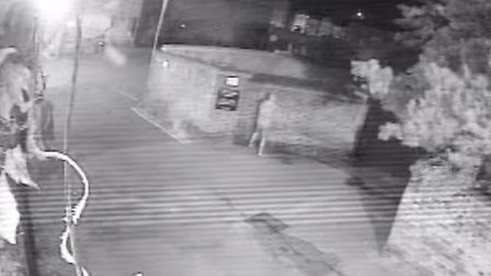 Police are looking to talk to this man who was not involved in Sunday morning's lewd incident