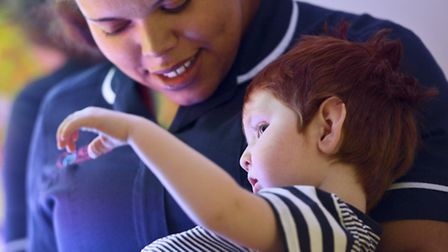 Keech Hospice Care provides children's hospice services across Herts