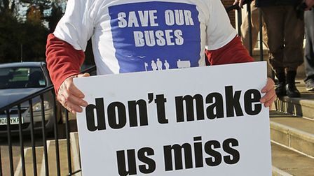 Bus cuts protestor Terry Figg will be at the meeting.