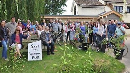 Campaigners fight to save The Windmill