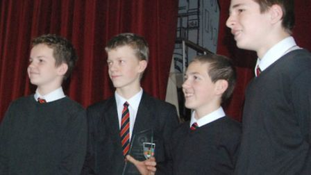 A team from Knights Templar School in Baldock won the intermediate section of the annual Rotary tech